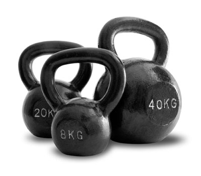 Load of Kettlebells